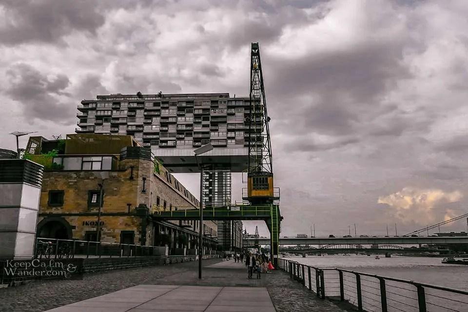 Hotel Hostel Cologne Rhine River