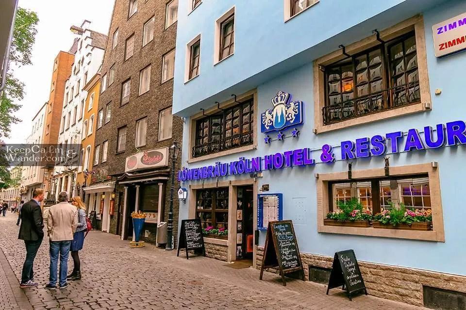 Hotel Hostel Koln Travel Blog