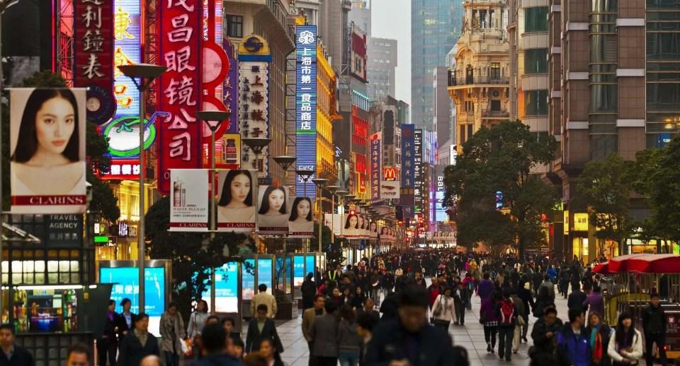 Cultural Places to Visit in Shanghai Nanjing Lu Road