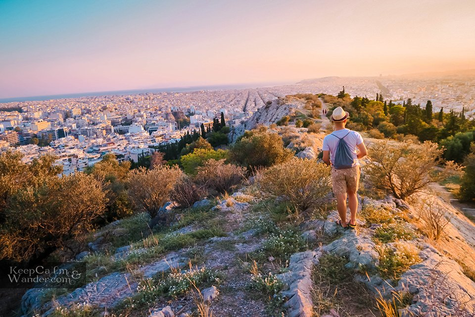 Filopappou Hill in Athens Things to do