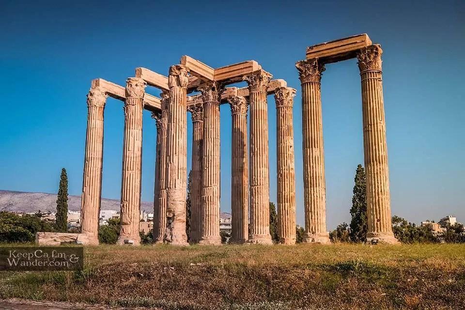 Greek Mythology Temple