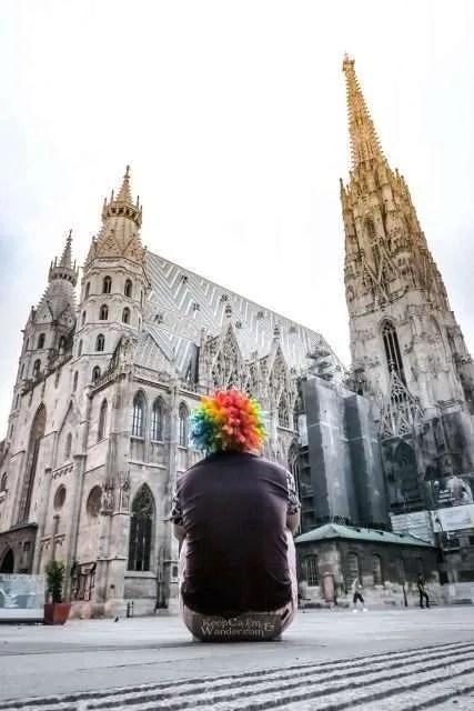 Stephansdom Cathedral in Vienna Austria