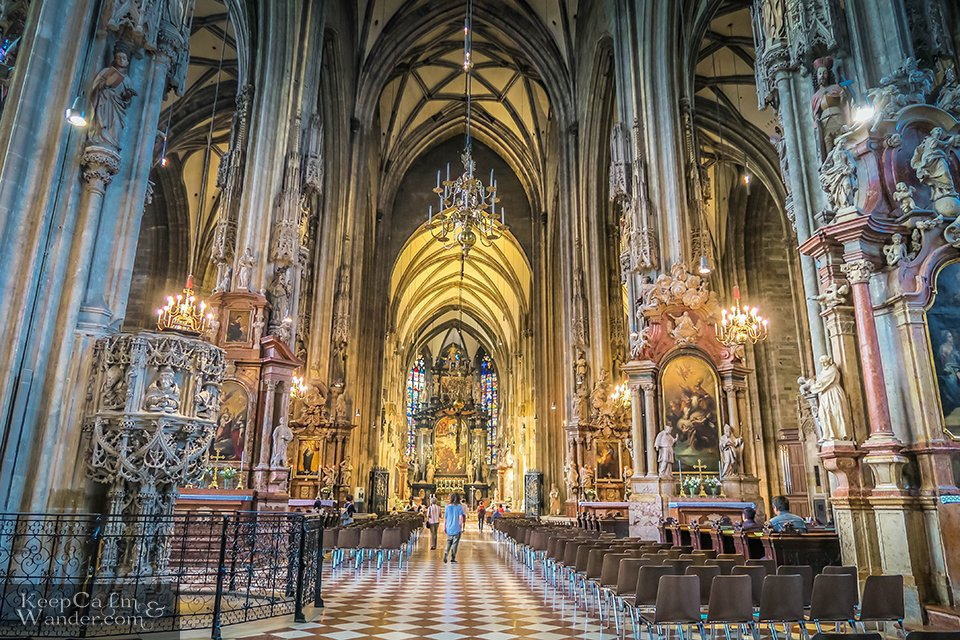 Altar of st Stephen's cathedral Vienna Things to do