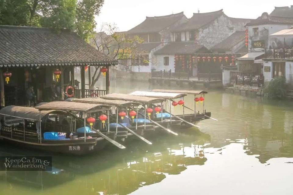 Boat ride Xitang China Travel