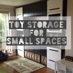 Small Living Room Toy Storage Ideas Daybed In For Spaces: Ikea Besta & Kallax