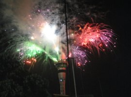 Neaw Year in Auckland