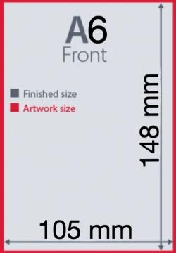 Ukuran Kertas A6