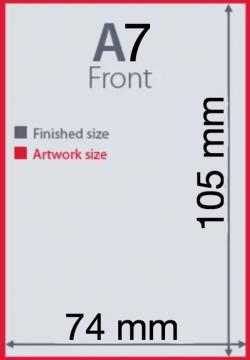 Ukuran Kertas A7