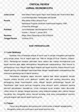 Contoh Review Jurnal
