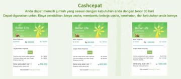 Pinjaman Online Cash Cepat