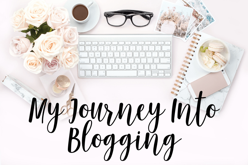 My Journey Into Blogging