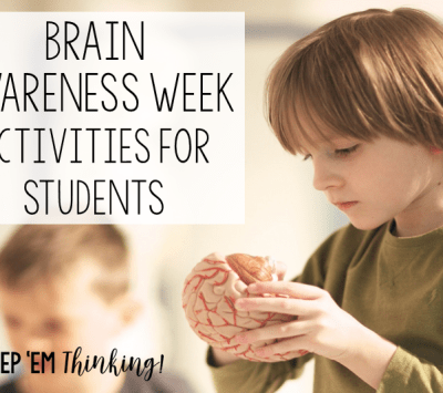 Brain Awareness Week Activities