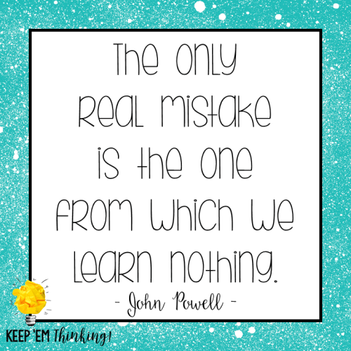 Mistakes Quote John Powell