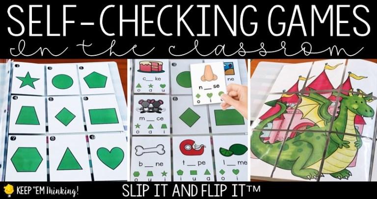 image of self-checking phonics game