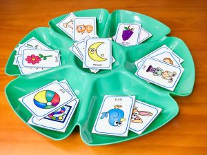 use a dip and chip tray to use for sorting activities in your class