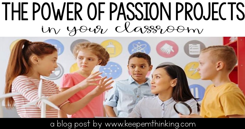 Passion Projects and Genius Hour in the Classroom