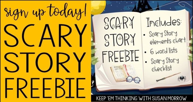 spooky story freebie
