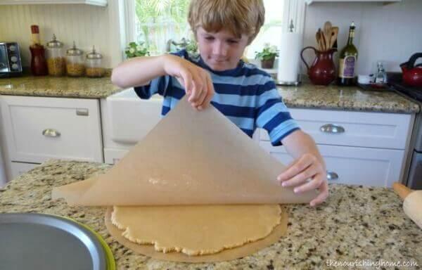 Fruit Pizza Rolling Dough