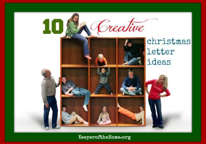 Ten Creative Christmas Letter Ideas Keeper Of The Home