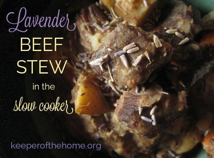 Lavender Beef Stew