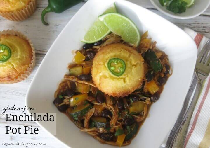 Savory Enchilada Pot Pie (GF, DF) 4