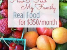 How I Feed My Family Real Food for $350 a Month - Keeper ...