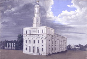 The Nauvoo Temple by C.C.A. Christensen