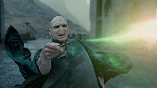 HARRY POTTER AND THE DEATHLY HALLOWS PART 2 Voldemort