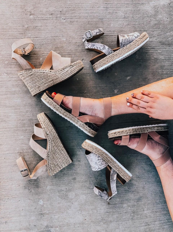 favorite platform sandals