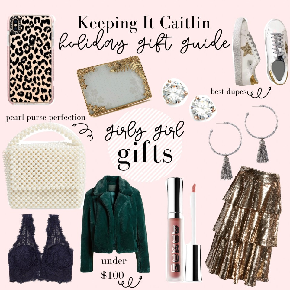gift guide// girly girl