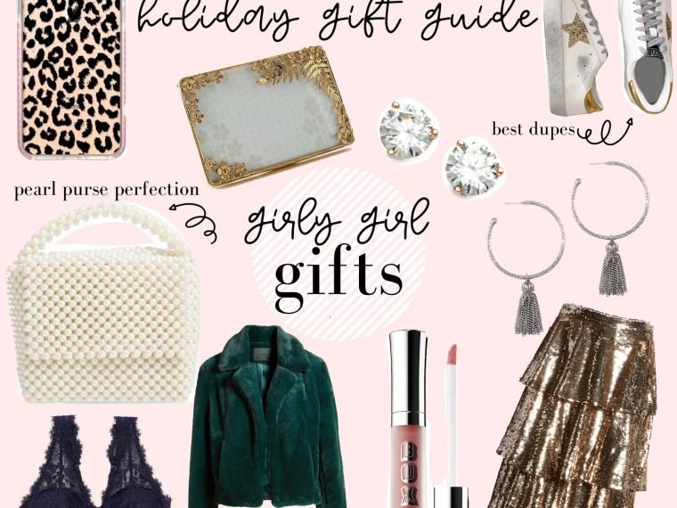 gift guide// girly girl