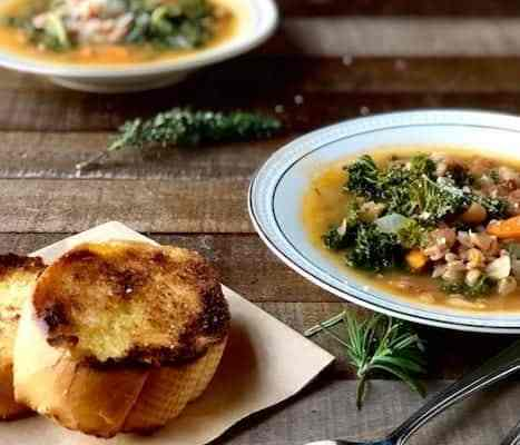 Farro and Kale Minestrone