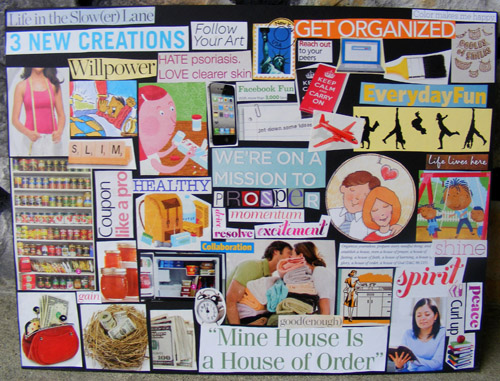 Vision Board By Keeping Life Creative Keeping Life Creative