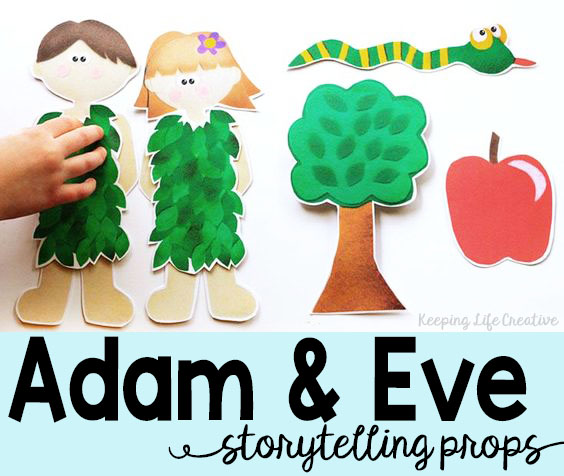 Adam And Eve Story For Kids Keeping Life Creative