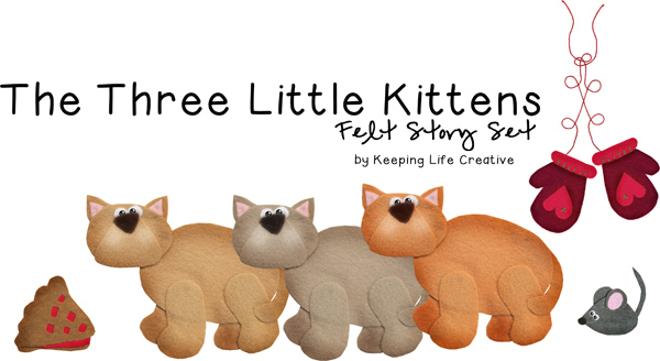 Three Little Kittens Storytime Activities