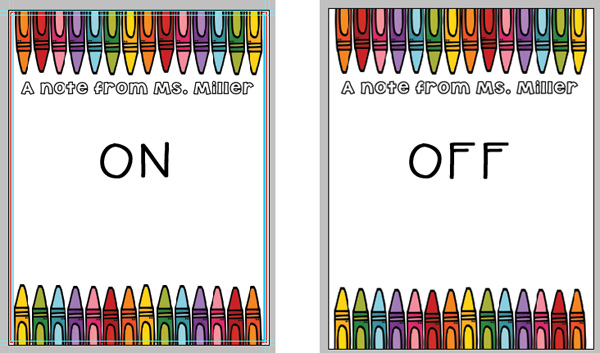Using Clip Art to Create Personalized Stationary