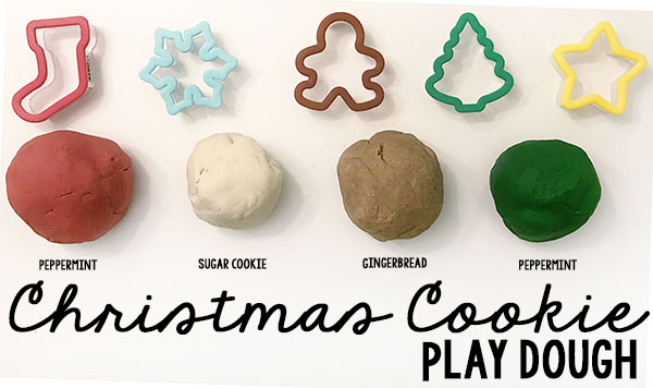 Christmas Cookie Play Dough