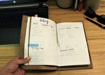 bullet journal blog