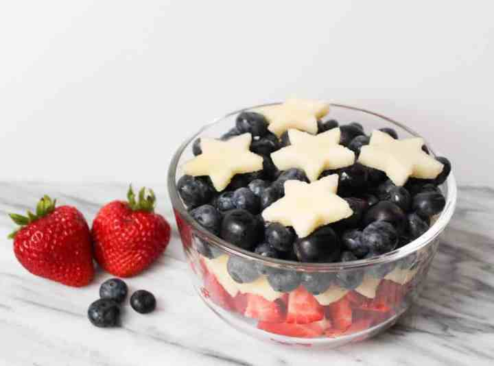 Weight Watchers Fourth of July Fruit Salad 3