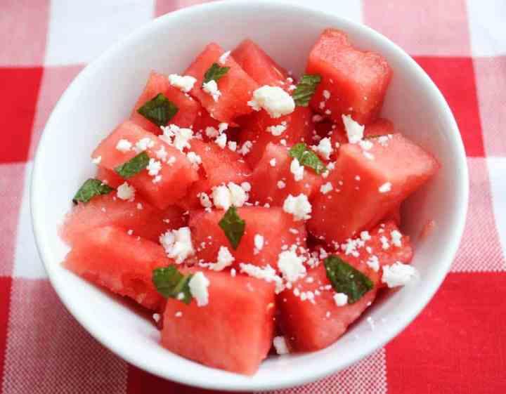 Weight Watchers Watermelon Salad