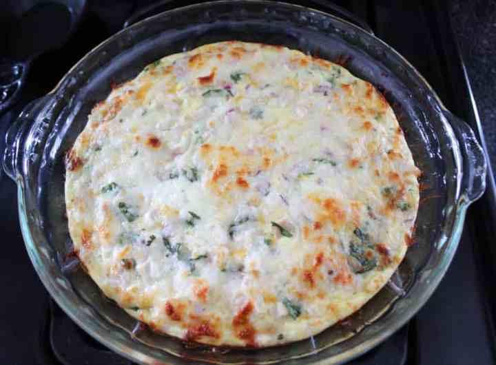 Weight Watchers Chicken Quesadilla Pie