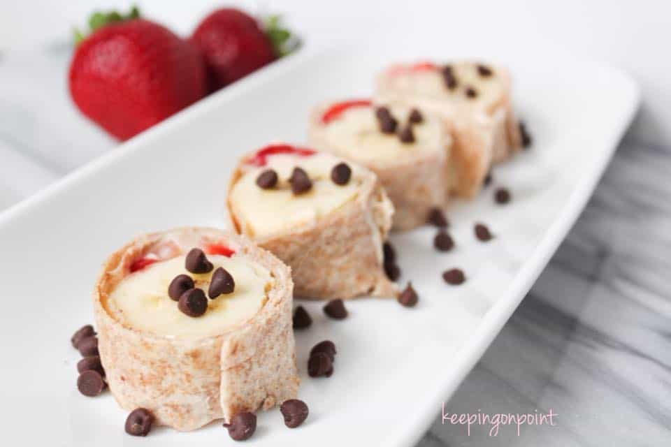 Weight Watchers Fruit Sushi 1