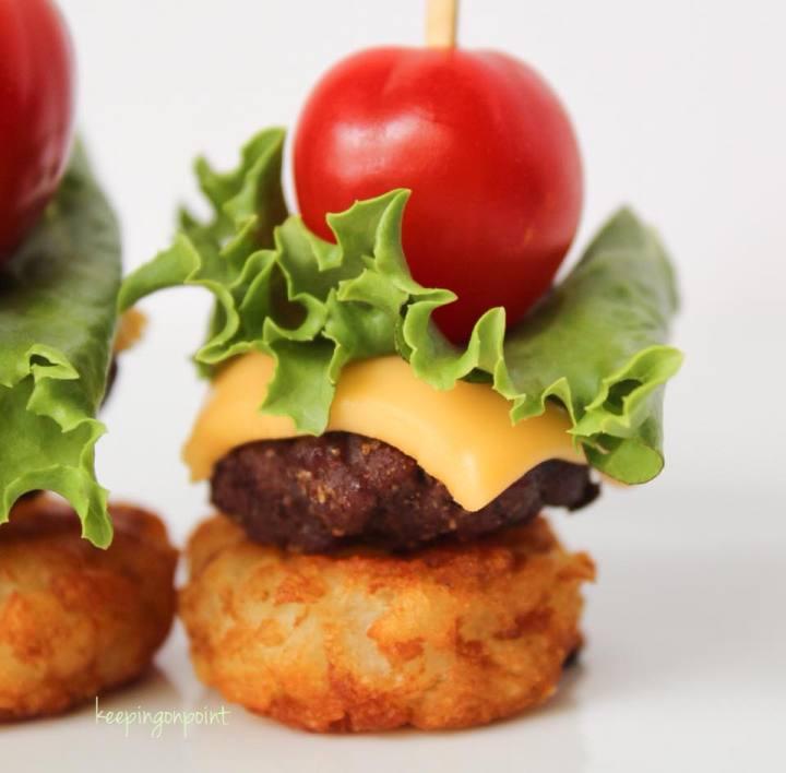 Weight Watchers Mini Cheeseburger Bites 5