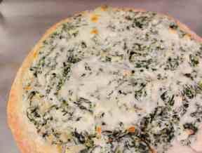 Weight Watchers Spinach Artichoke Pizza