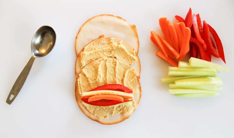 Weight Watchers Turkey Roll Up 3