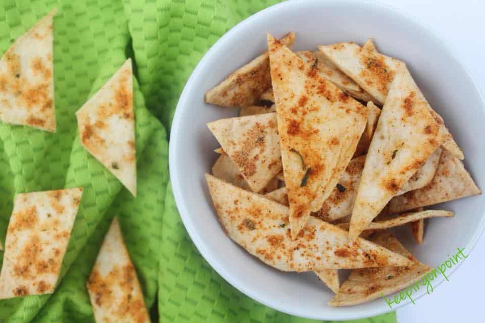 Weight Watchers Baked Cool Ranch Tortillas 2