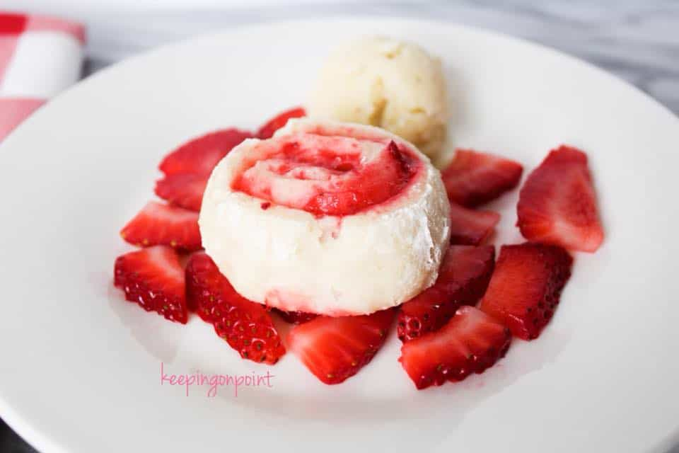 Weight Watchers Strawberry Roll 3