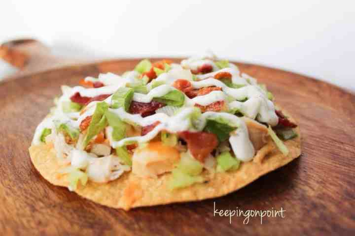 Weight Watchers Tostada