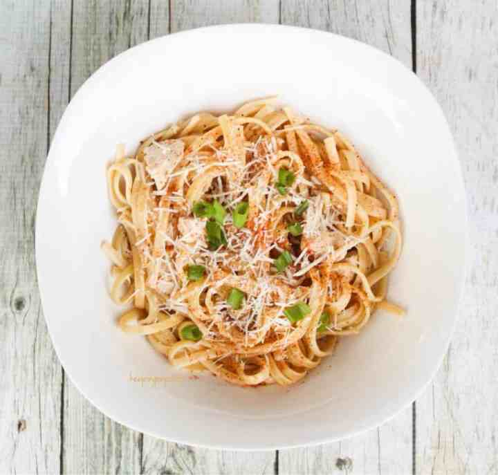 Weight Watchers Cajun Chicken Pasta 2