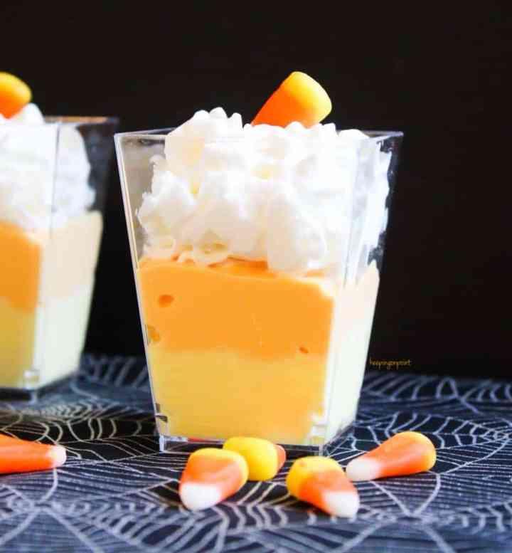 Weight Watchers Candy Corn Yogurt
